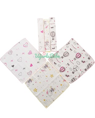 6 Muslin Pack Cloth Set